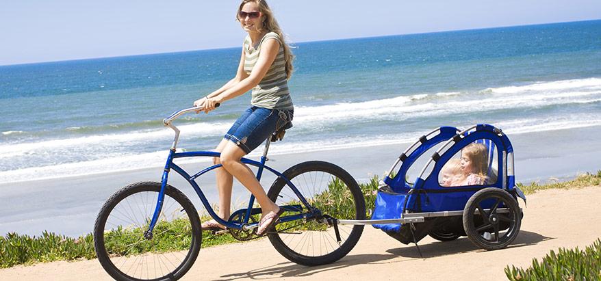 Thule cykelvagn sätter säkerheten i fokus
